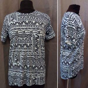 LuLaRoe Shirt size 14 Geometric Design